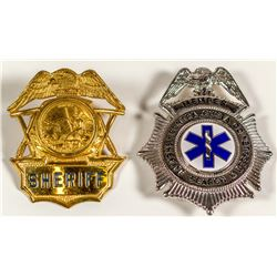 Two California Badges