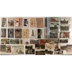 Remarkable Collection of Postcards from the Hellman / Heller Families