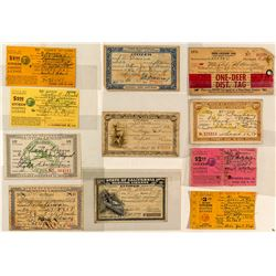 Eleven Different California Hunting Licenses