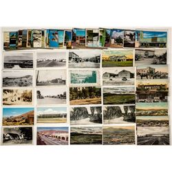 """B"" Towns, Southern California Desert Postcards"