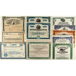 Northern California Stock Certificate & Bond Collection
