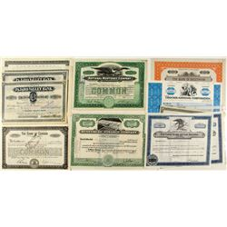 California Banking Stock Certificates