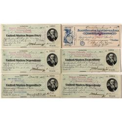 U.S. Depository Checks to Military Officers