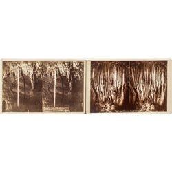 Grand Caves at Manitou 1800's photographs