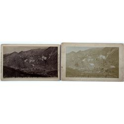 Two Alex Martin Photographs of Silver Plume