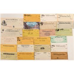 Unissued Colorado Check Collection (No RN)