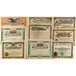Dakota Non-Mining Stock Certificates