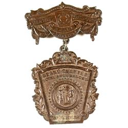 1909 Grand Chapter Mason's Badge (Savannah)