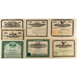 Idaho Non-Mining Stock Certificates (7)