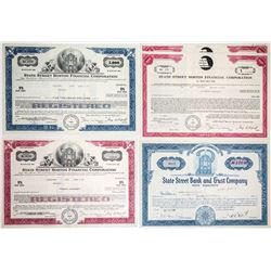 State Street Boston Financial Bond Certificates (5)