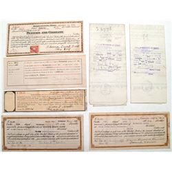 Teddy Roosevelt era Land Grants and Ephemera