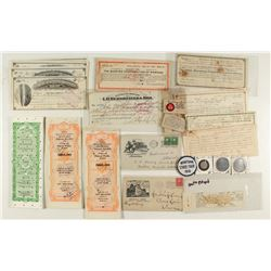 Montana Collection (Tokens, Checks, Covers, Documents)