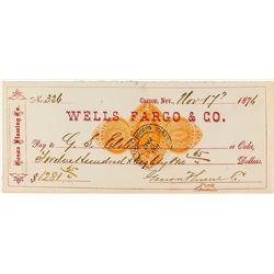 Genoa Fluming Company Check