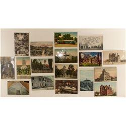 Color postcards of Carson City