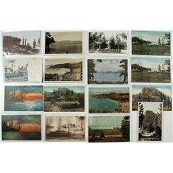 Glenbrook Area Postcards including 6 RPC's