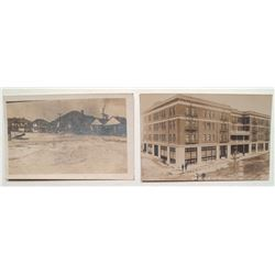 Two Nice Early Goldfield Real Photo Postcards