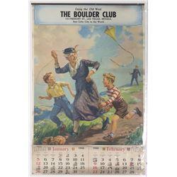The Boulder Club Calendar