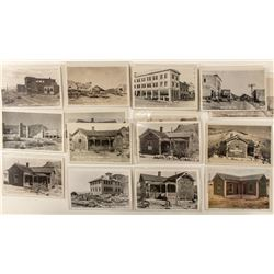 Rhyolite Street Views/Bottle House Postcards