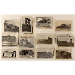 Rhyolite Ghost Series Real Photo Postcards