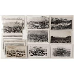 Birds-eye View Postcards of Rhyolite