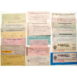 Tonopah Check Collection