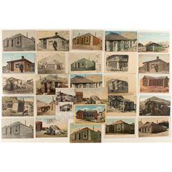 Tonopah Landmarks Postcards