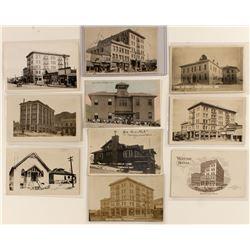 Nicer Tonopah Building Postcards