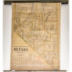 Nevada State Map c.1920