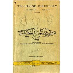Alamogordo-Tularosa Telephone Directory