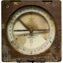 W. & L. E. Gurley Antique Pocket Compass, c. 1870