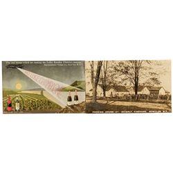 2 New York Wine Postcards c.1910