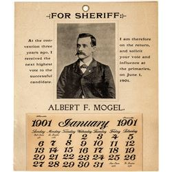 """""""Mogel for Sheriff"""" Calendar"""