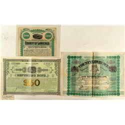 Three Different Lawrence County Bonds