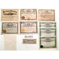 Great Texas Group (handbill, letter, stocks, etc.)