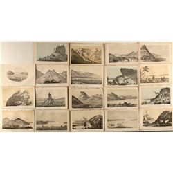 Great Salt Lake Prints of the Stansbury Expedition