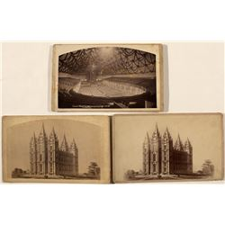 Mormon Temple Cabinet Cards