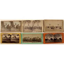 Eagle Gate Stereoviews (Brigham Young Residence)