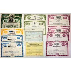 Computer & Technology Stock Certificate Group #2