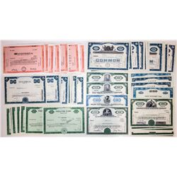 U.S. Technology Company Stock Certificates (132)