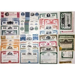 U.S. Financial Companies Stock and Bond Certificate Group (220)