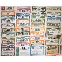 U.S. Industrial Companies Stock Certificate Group (160)