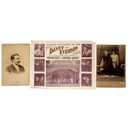 Early Theatre Ephemera
