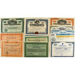 Radio Stock Certificate Group