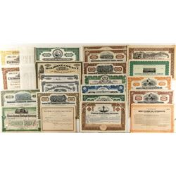 Miscellaneous US Stock Certificates and Bonds
