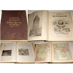 Cram's Superior Family Atlas, The World