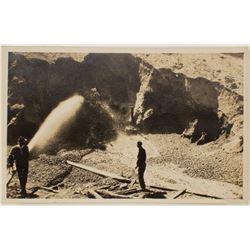 San Benito County Hydraulic Mining Postcard