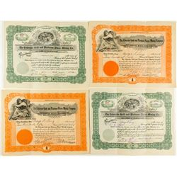 Colorado Mining Stock Certificates Group