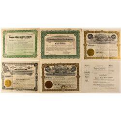 Montana Mining Certificates