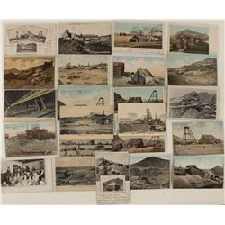 Tonopah, Goldfield, and Blair Mining Postcards