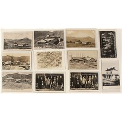Comstock Group Mining Postcards
